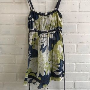 Hollister babydoll tank top